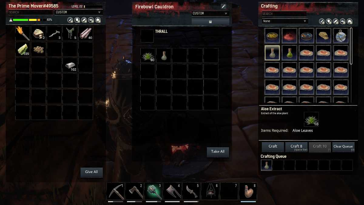 Conan Exiles: Isle of Siptah healing guide – How to heal, wraps, aloe extract locations