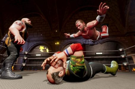 How to use the bagpipes in WWE 2K Battlegrounds