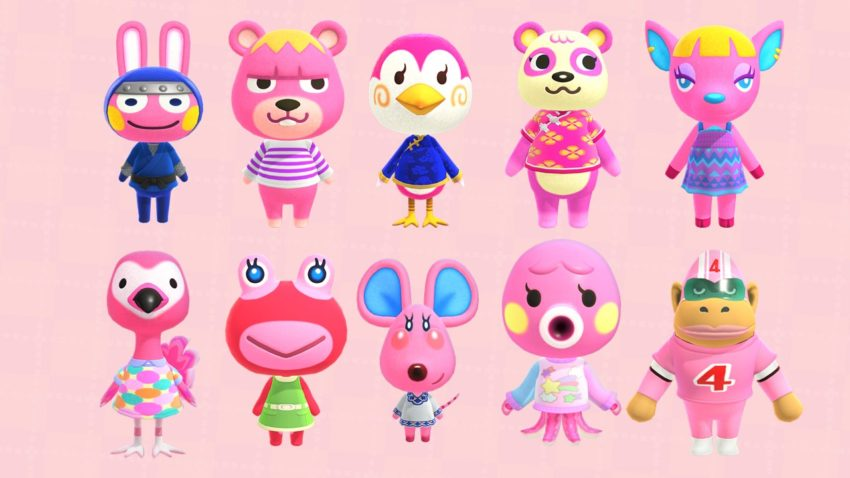 Hot Pink Villagers