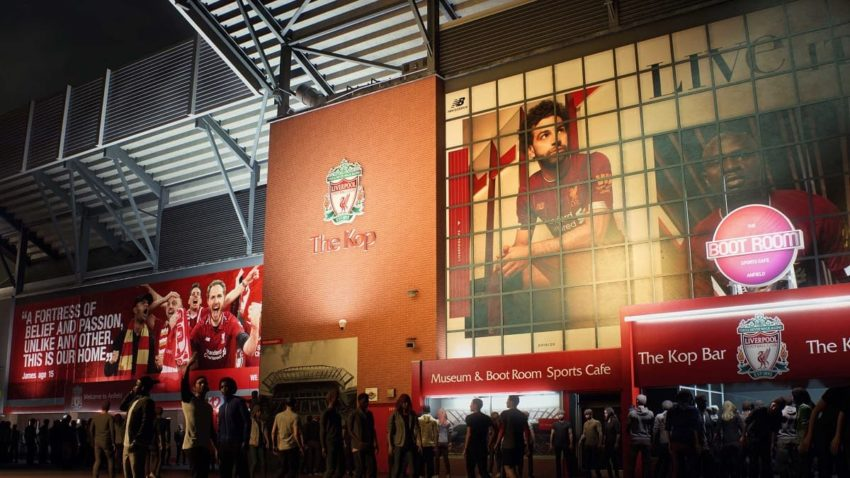 FIFA 21 Anfield