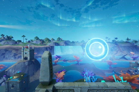 Where to collect Floating Rings at Coral Castle in Fortnite Chapter 2 Season 4