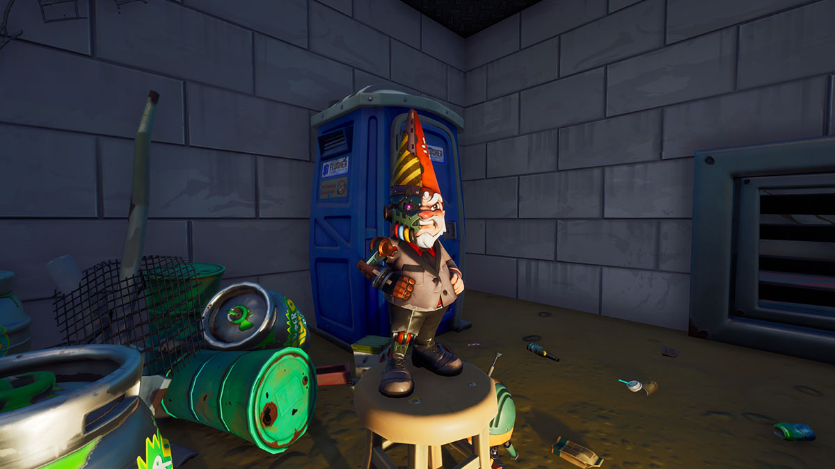 Where to find The Lair secret Gnome challenge in Fortnite Chapter 2 Season 4