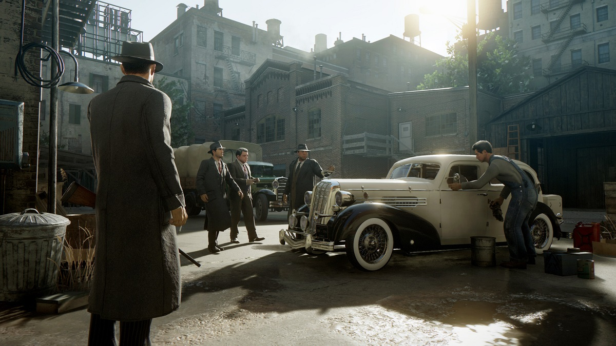 When is the exact release time for Mafia: Definitive Edition?