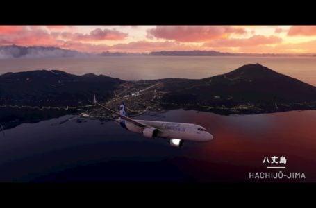Microsoft Flight Simulator's Japan update coming next week