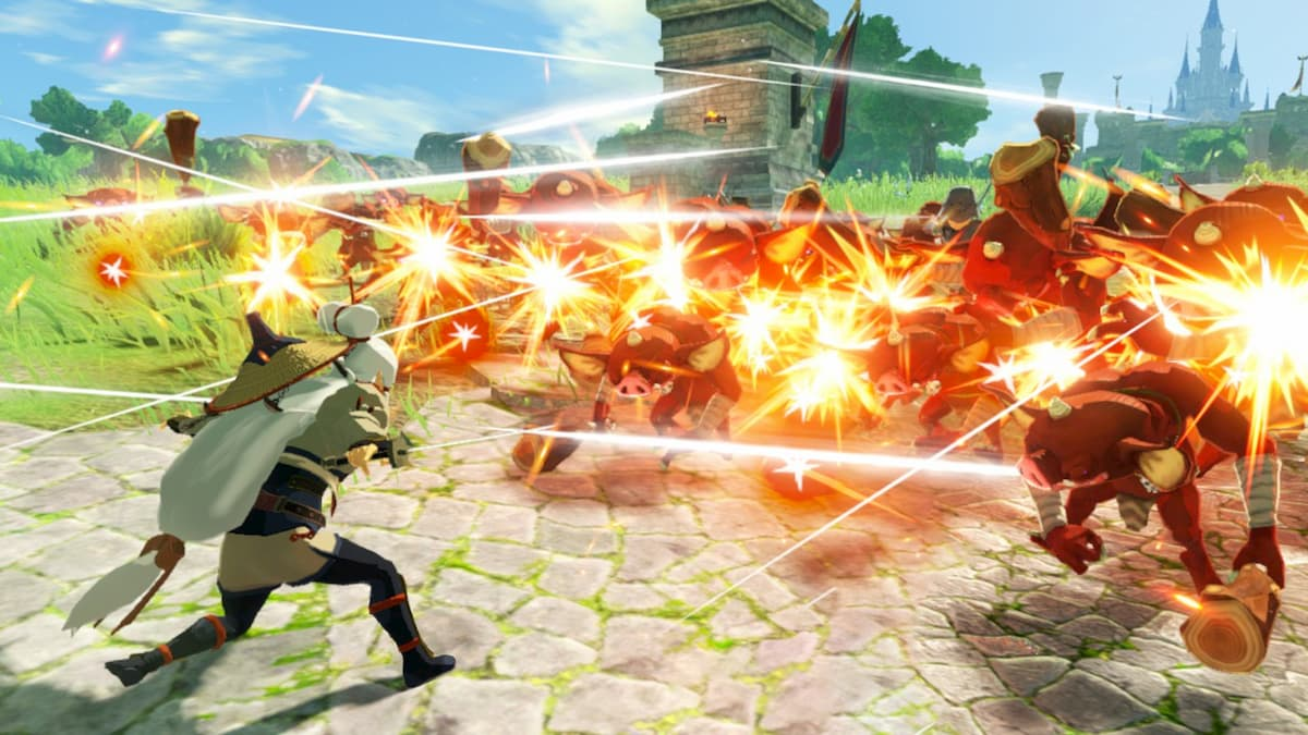 Young Impa is playable in Hyrule Warriors: Age Of Calamity