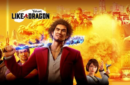 What is the release date for Yakuza: Like A Dragon?