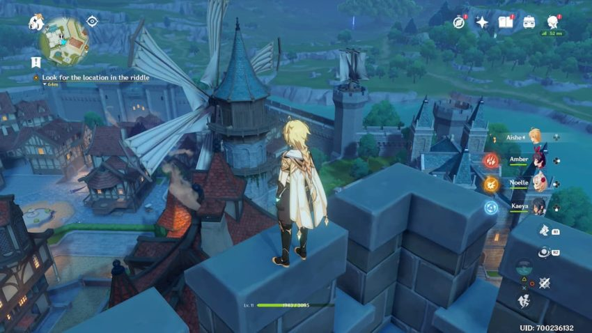 Arcadian Ruins Windmill