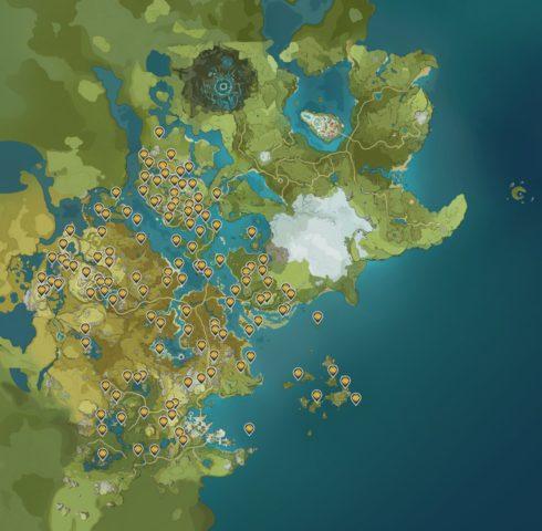 Geoculus Locations