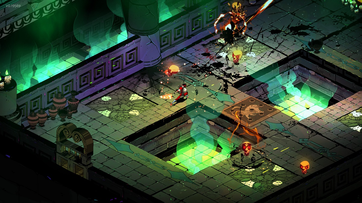When is the release date for cross-save in Hades?