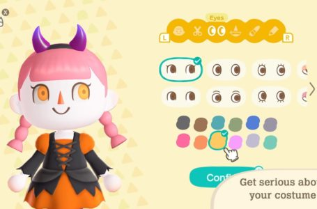 How to make your eyes and skin unnatural colors in Animal Crossing: New Horizons