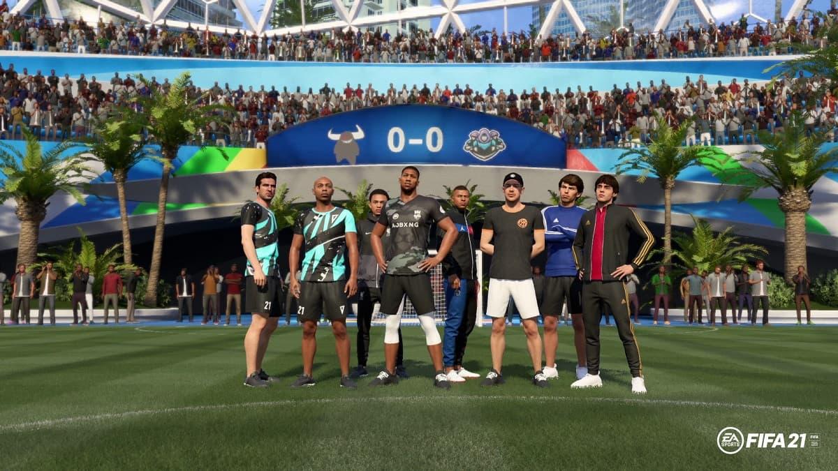 FIFA 21 squad