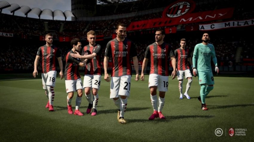 How to change the camera angle and settings in FIFA 21?