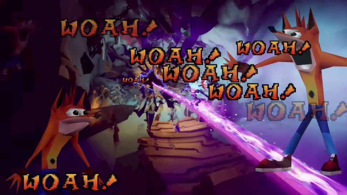 How to get the Woah Yeah! Trophy and Easter Egg in Crash Bandicoot 4: It's About Time