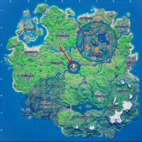 Fortnite Island Map