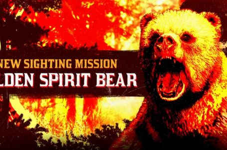 Where to find the Legendary Golden Spirit Bear in Red Dead Online
