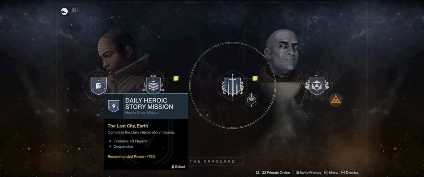 Heroic Story Missions
