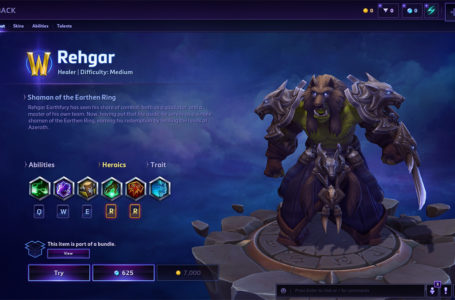Rehgar build guide in Heroes of the Storm