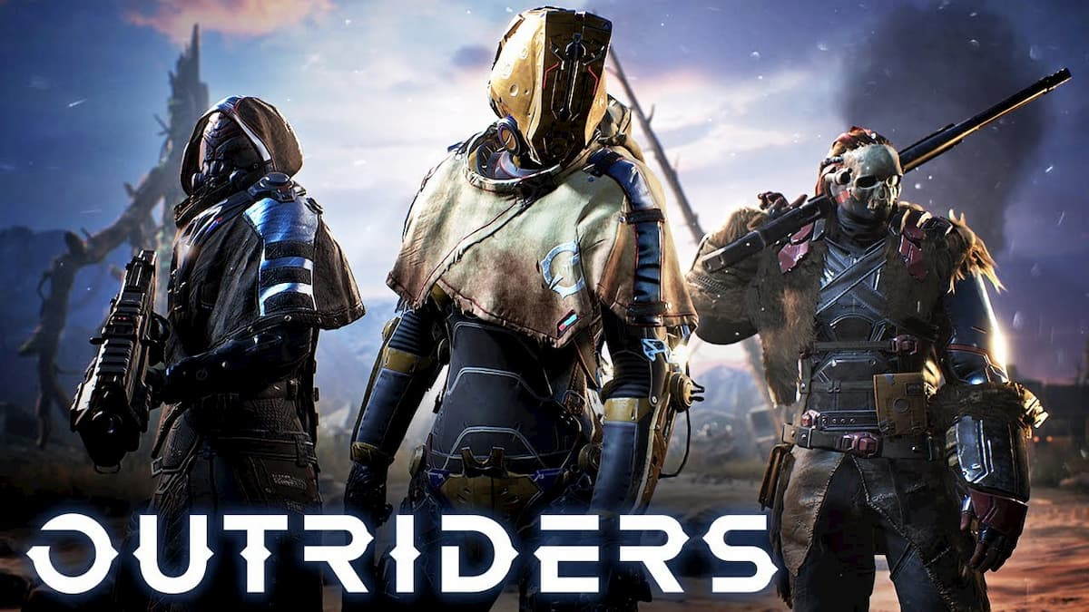 What is the release date for Outriders?