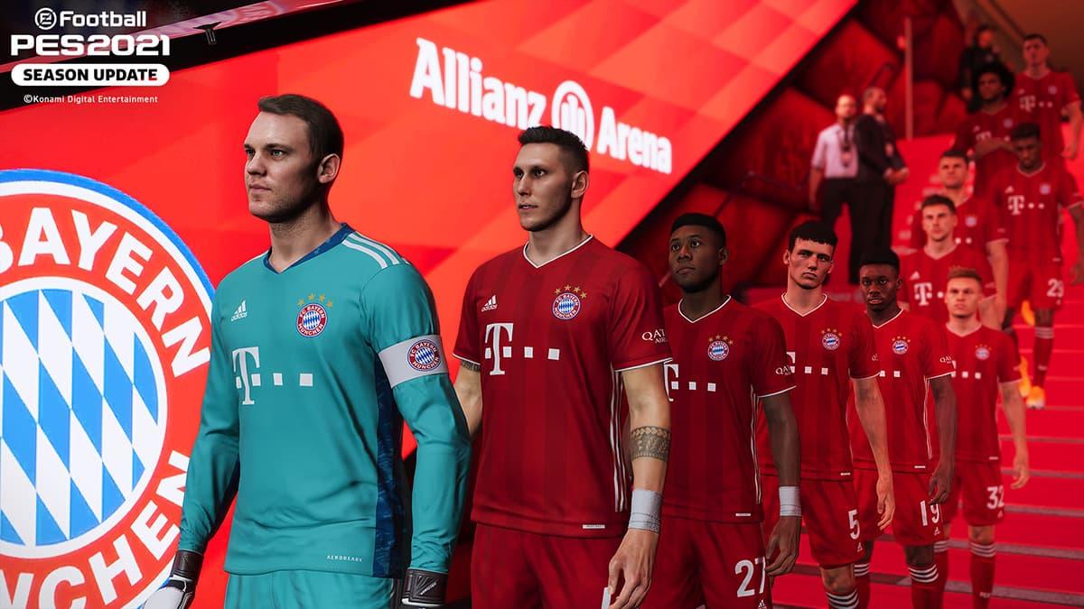 PES 21 Season Update Bayern München