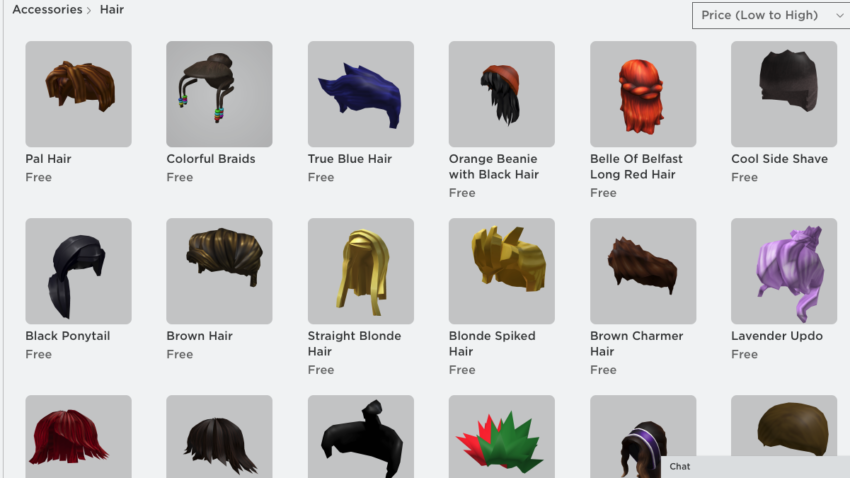 How to get free hair in Roblox Gamepur