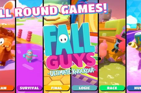 All Round Games in Fall Guys: Ultimate Knockout