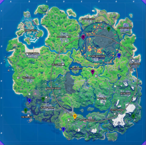 All XP Coin Locations