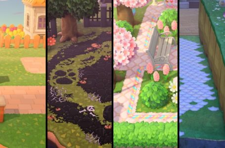 The best path designs in Animal Crossing: New Horizons