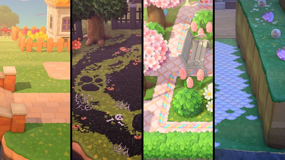 The Best Path Designs In Animal Crossing New Horizons Gamepur