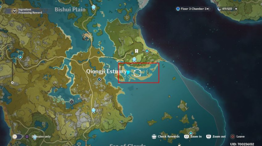 Star Conch Location