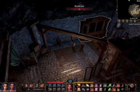 How to open the bookcase in the basement in Blighted Village in Baldur's Gate 3