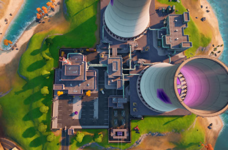 Where to collect floating rings at Steamy Stacks in Fortnite Chapter 2 Season 4 Week 9