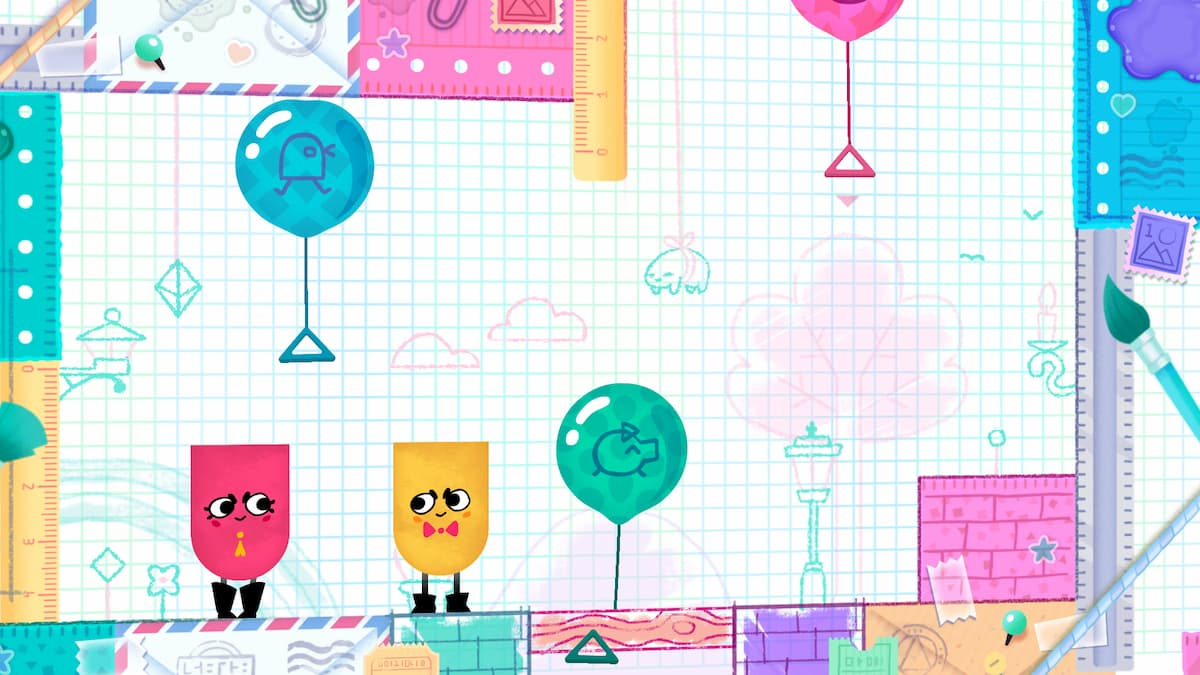 Snipperclips: Cut it Out Together!