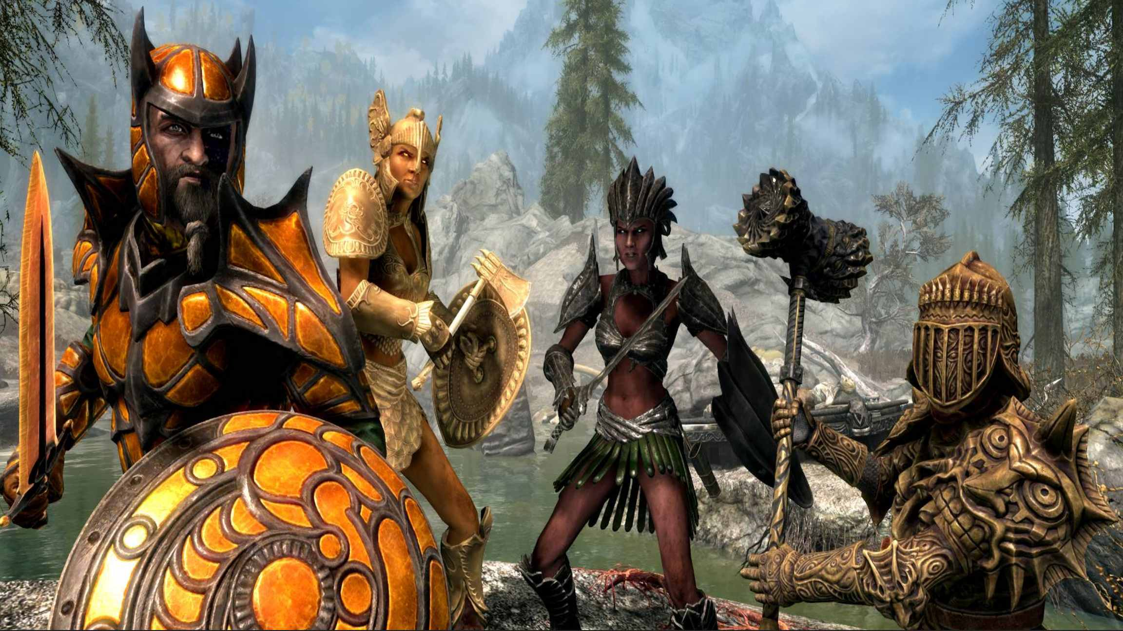 Must Have Skyrim Mods Youtube
