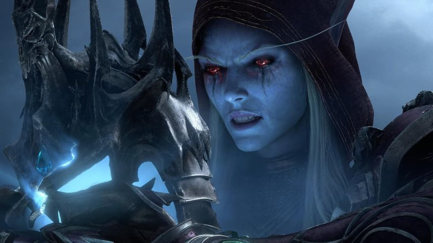 World of Warcraft Sylvanas Shadowlands