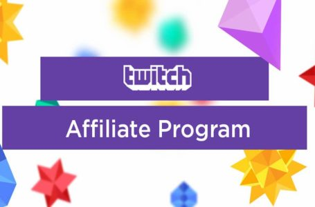 How to become an Affiliate on Twitch