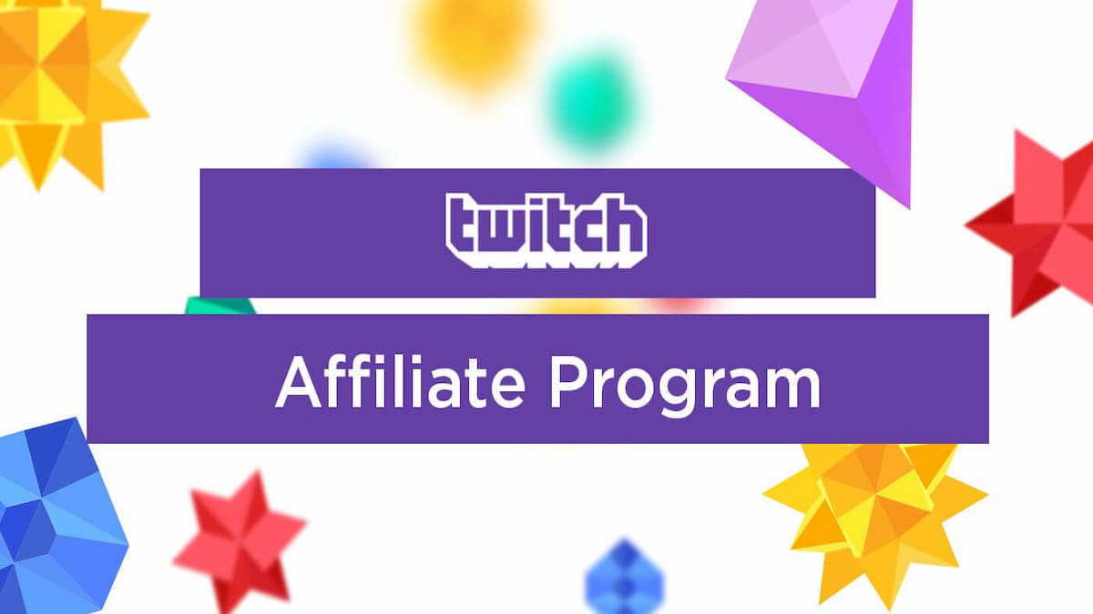 How to get Affiliate on Twitch