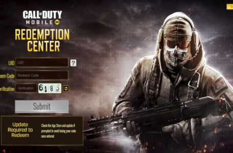 How to redeem codes from Call of Duty: Mobile redemption center