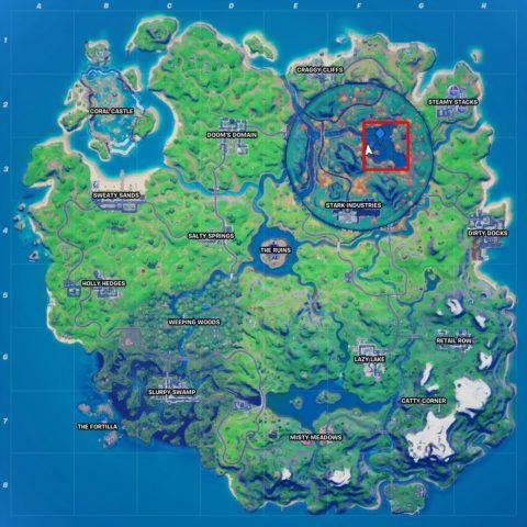 Heart Lake Location Fortnite