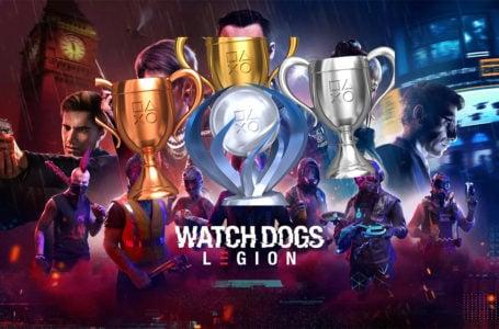 Watch Dogs: Legion trophies and achievements List