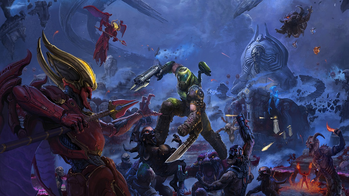 doom eternal the ancient gods part one review - Review: Doom Eternal: The Ancient Gods Part One is a frustrating expansion that offers little variety