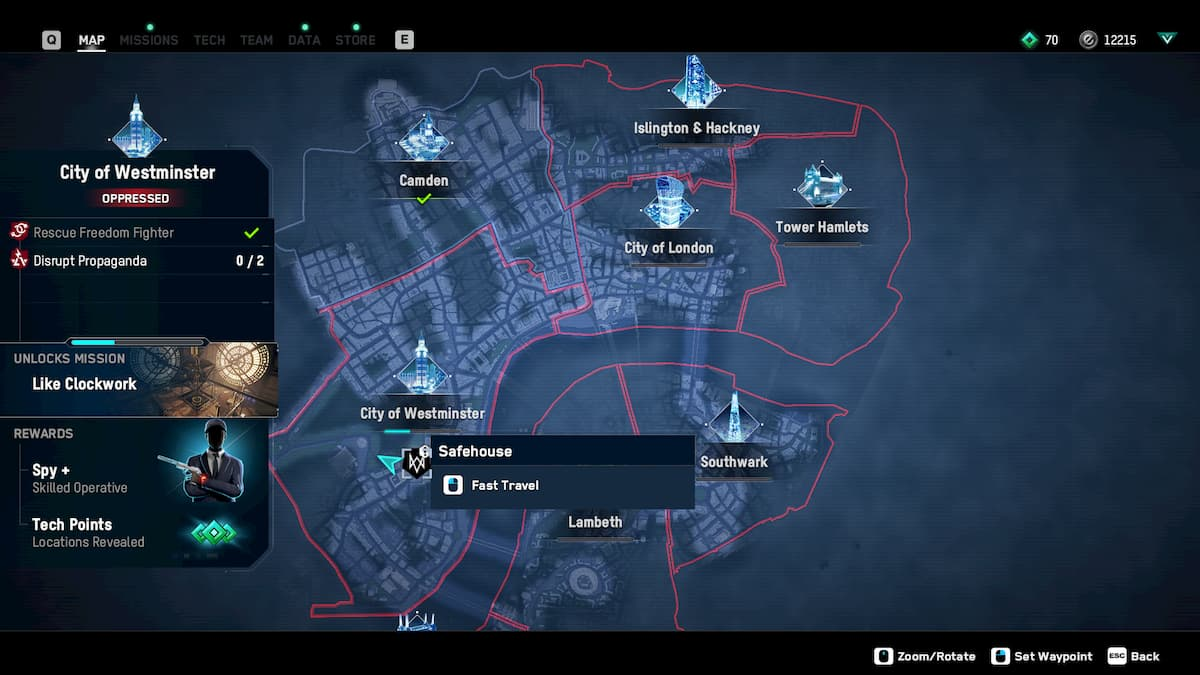How to make boroughs defiant in Watch Dogs: Legion