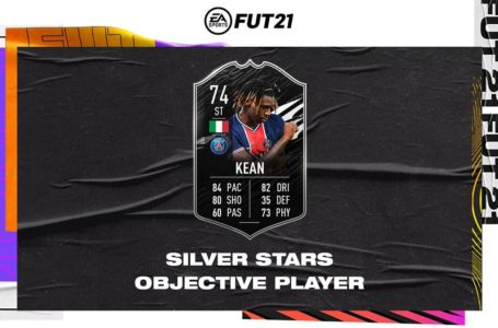 How to complete the Silver Stars Moise Kean objective in FIFA 21 Ultimate Team