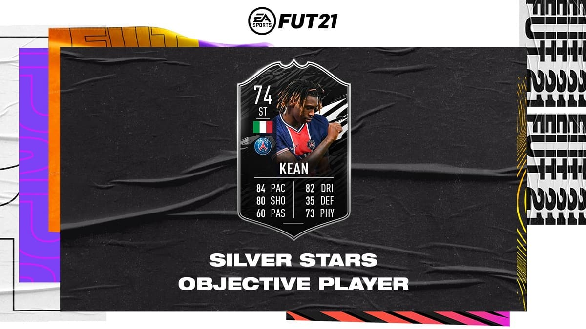 TotW Moise Kean FIFA 21 Ultimate Team