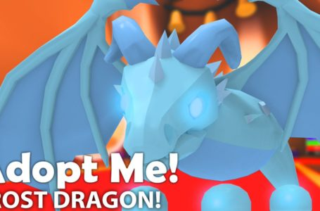 How to get a Frost Dragon in Roblox Adopt Me
