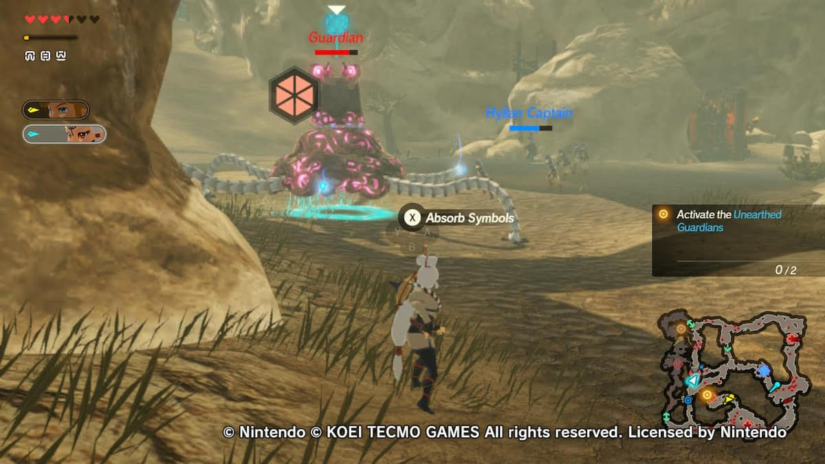 How To Beat The Road To The Ancient Lab Guardian In Hyrule Warriors Age Of Calamity Gamepur