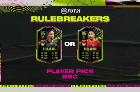 FIFA 21: How to complete the Rulebreakers Karim Bellarabi Squad Building Challenge Objectives
