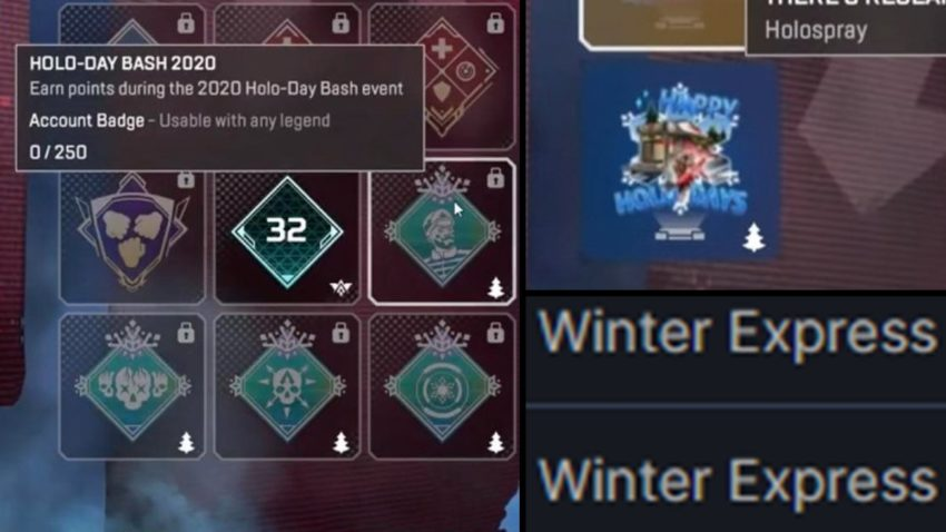 Winter Badges, Spray and LTM