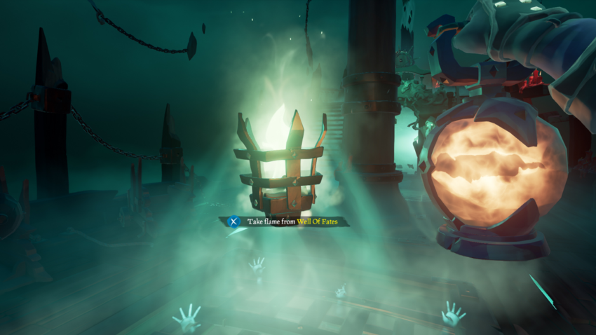 Well of Fates Sea of Thieves