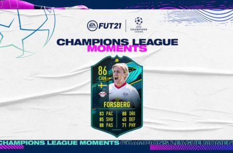 FIFA 21: How to complete the UCL Momemts Emil Forsberg SBC