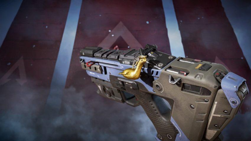 Golden Gun Charm